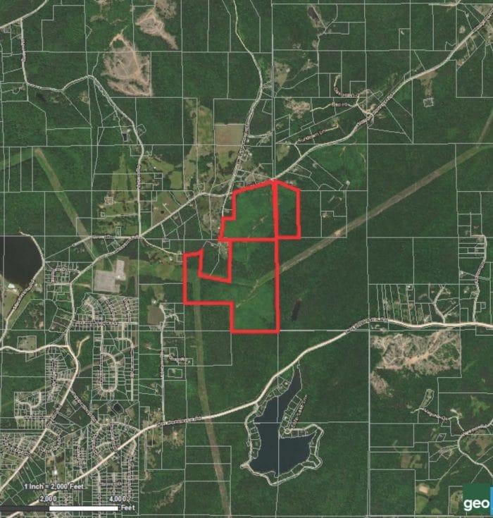 175 Acres For Sale off Clayton Road in Sprinville, AL