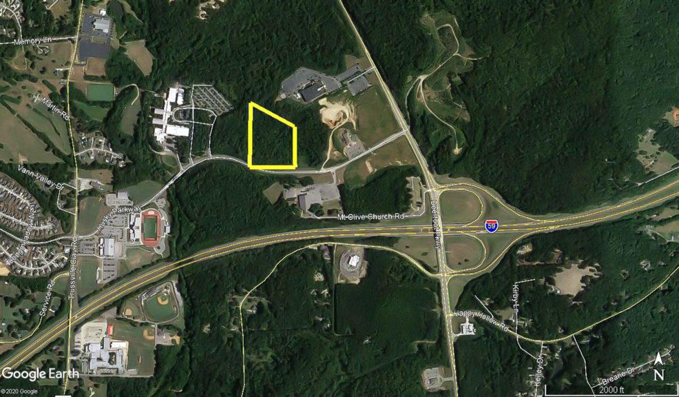 12 Acres Land For Sale off Husky Pkwy Trussville, AL